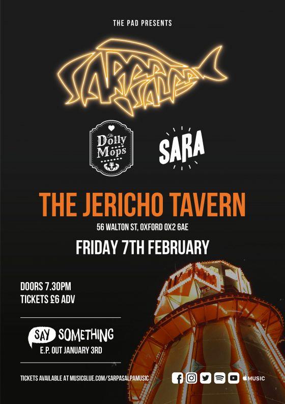 Sarpa Salpa The Jericho Tavern Oxford