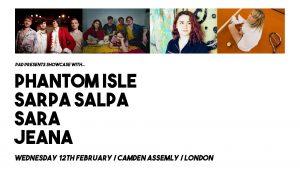 Phantom Isle + Sarpa Salpa + Sara + Jeana