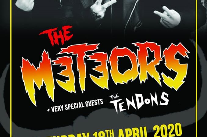 The Meteors Bedford Esquires Saturday 18th April
