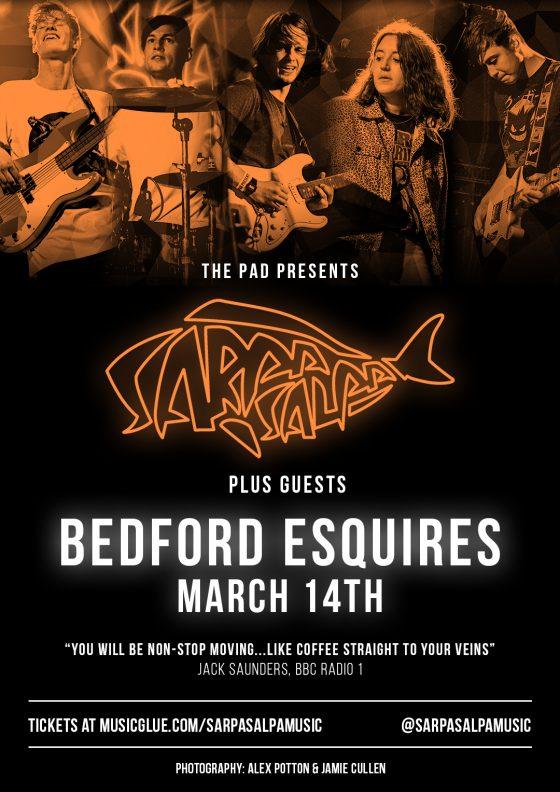 Sarpa Salpa Bedford Esquires Sat 14th March