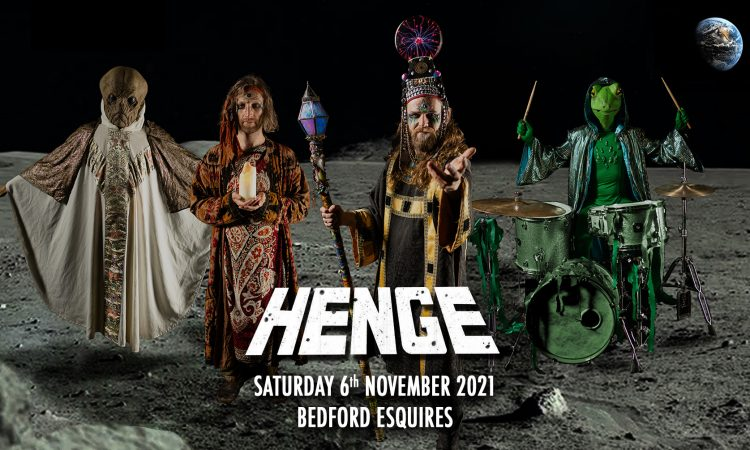 Henge - live at Bedford Esquires Saturday 6th November