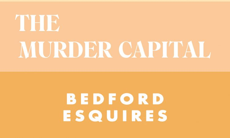 The Murder Capital Friday 1st October